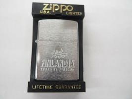 Rare  New Retired Finlandia Vodka  Zippo Lighter - $56.95