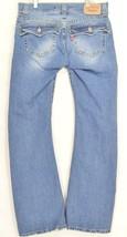 Levi 542 jeans slouch 10 x 31 flare twisted leg flap back pockets boho hippie image 2