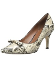 Cole Haan Juliana 75mm Pointed Toe Leather Pumps, Women's Size 8.5B, Sna... - $59.84