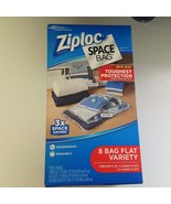 Ziploc Space Bags Set 8 Bag Flat Variety Pack V... - $44.55