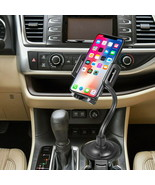 Universal 360° Rotatable Car Cup Holder Phone Mount with Flexible Goose ... - $9.40+