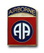 82nd Airborne Division Lapel Pin - $3.30