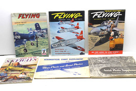 1944 Army Air Forces Training Command Aerial Photo Suppl+1945 Aero Chart+Mag Lot - $63.57