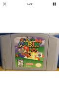 Nintendo 64 Super Mario - $15.00