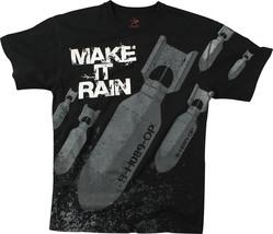 Black Make It Rain Bombs Vintage Short Sleeve T-Shirt - $16.99+