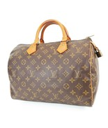 Authentic LOUIS VUITTON Speedy 30 Monogram Boston Handbag Purse #38207 - $479.00