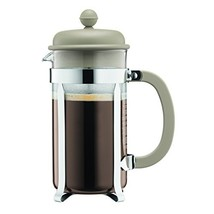 Bodum 1918-133B Caffettiera Coffee Maker, 8 Cup/1.0 L/34 (34 oz.|Sand/34... - $29.36