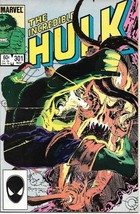 The Incredible Hulk Comic Book #301 Marvel Comics 1984 Near Mint New Unread - $3.99