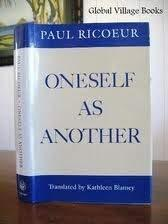 Oneself as Another Ricoeur, Paul and Blamey, Kathleen