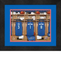 Personalized Oklahoma City Thunder 12 x 16 Locker Room Framed Print - $63.95