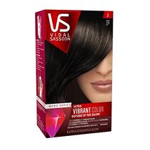 VS Vidal Sassoon Pro Series Ultra Vibrant Hair Color 2 Black Hair Dye Permanent - $15.83