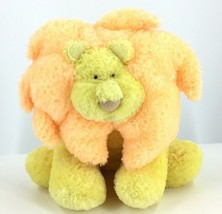 Russ Baby Lion with Rattle Inside Yellow and Orange Stocking Stuffer Gift - $12.72
