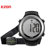 EZON Heart Rate Monitor Watch WR Digital Sports Running Watches With Che... - $37.99