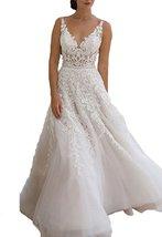 Cheap Lace Boho Beach Wedding Dresses Backless,Wedding Gown,Bridal Dress 2017 - $189.00