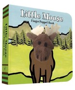 ImageBook Little Moose Finger Puppet Book - $20.00
