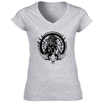 American Native Indian You Can't - New Cotton Grey Lady Tshirt - $24.79