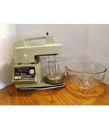 Vtg 10 Speed Oster Regency Kitchen Center Mixer Blender Meat Grinder Ava... - $122.49
