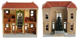 7 Hallmark Nostalgic Houses and Shops includes TOWN HALL MAYORS HOUSE NIB image 2