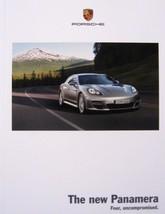 2009 Porsche Panamera Prestige Brochure, s 4s Turbo, 166 pgs w/ Colors - $16.02