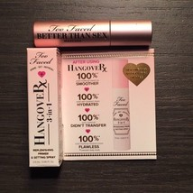 NEW Too Faced Lot of 2 Mascara and Hangover RX SAMPLE SIZE FAST SHIPPING - $10.00