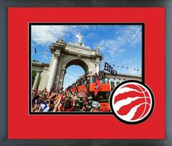 2019 Toronto Raptors Championship Parade -11x14 Team Logo Matte/Framed P... - $43.55