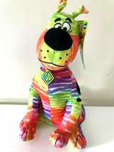 New Licensed Scooby -Doo Color Blend. Large 12 inch tall. Scooby Plush Toy. NWT - $18.61