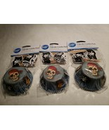 Pirate Cupcake Papers/Picks,Combo Pack,Wilton,  72 Bake Cups, ( 3 pk of ... - $13.85