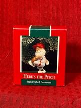 1989 Hallmark Keepsake Ornament   Here's the Pitch    039-108 - $3.99