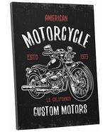 "Pingo World 0725QR3YEJM ""American Motorcycles"" Gallery Wrapped Canvas Wall Art,  - $138.55"