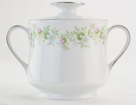 Johann Haviland China Forever Spring Pattern Lidded Sugar Bowl Tableware... - $22.99