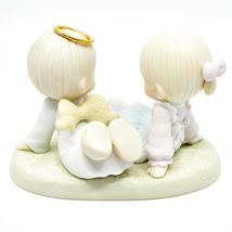 1997 Precious Moments 521388 Heaven Must Have Sent You Porcelain Figurine image 4