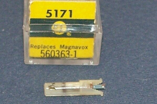 PHONOGRAPH CARTRIDGE NEEDLE Electro-Voice EV 5171 for Magnavox 560361 560363