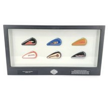 Harley Davidson Mini Gas Tank Collection Glass Display Kent's Abilene Texas - $93.46