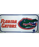 "Florida Gators 3"" x 6"" Embossed Metal Novelty Bicycle Tag License Plate - $5.95"