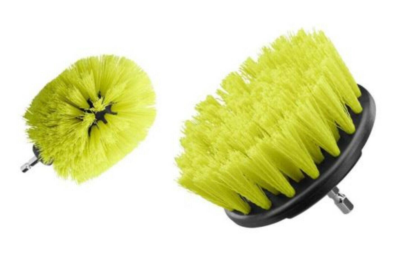 Ryobi Medium Bristle Brush Multi-Purpose Cleaning Accessory Kit, 2-Piece - $19.95