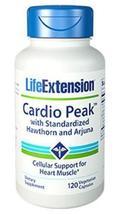 2 Bottles Life Extension Cardio Peak with Standardized Hawthorn Arjuna heart - $40.00