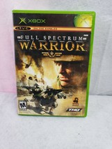 Full Spectrum Warrior (Microsoft Xbox, 2004) - Complete w/ Manual Tested Working - $7.04
