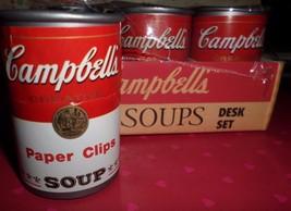 Campbells Soups Desk Set Promotional Advertisin... - $25.00