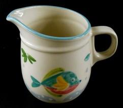 Studio Nova BARRIER REEF Pattern Coffee Creamer Tableware Fish Ocean theme - $6.92
