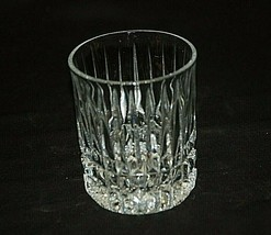 "Heritage Clear by Fostoria 4"" Double Old Fashioned Elegant Heavy Lead Crystal - $26.72"