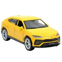 Lamborghini Urus 1:36 Diecast Metal Model SUV Car Yellow Collection Vehi... - $19.99