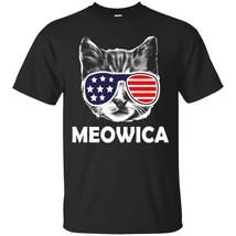 Labor Day Meowica USA American Cat Funny T-Shirt - ₨1,622.97 INR+