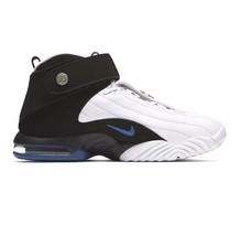 Nike Air Penny IV 864018-100 White Black Atlantic Blue Magic Hardaway Mens 8.5 - $99.95