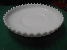 Beautiful Westmoreland Deep Dish Milk Glass Plate - $17.04