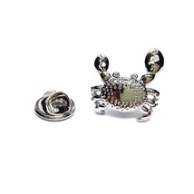 Crab Design  tie pin, Lapel Pin Badge, in gift box  as seen on tv