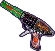 Space Jet Ray Gun Plasma Metal Sign by Terry Pastor - $35.00