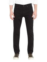 Levi's Strauss 511 Men's Premium Cotton Slim Fit Rigid Jeans Black 511-2154