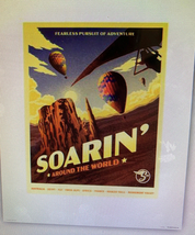 Disney Parks Soarin' Around the World Attraction Poster Art Print 16 x 2... - $51.80