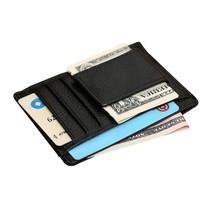 Upoalker Front Pocket Wallet Minimalist Wallet Slim Wallet Genuine Leather - $14.71