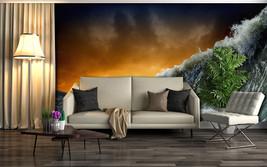 3D Tsunami, Stadt 3266 Fototapeten Wandbild Fototapete BildTapete FamilieDE - $52.21+